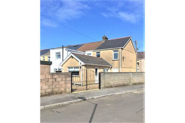 Thumbnail End terrace house for sale in Alexandra Place, Tredegar