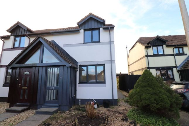 Thumbnail Semi-detached house to rent in Old Market Drive, Woolsery, Bideford
