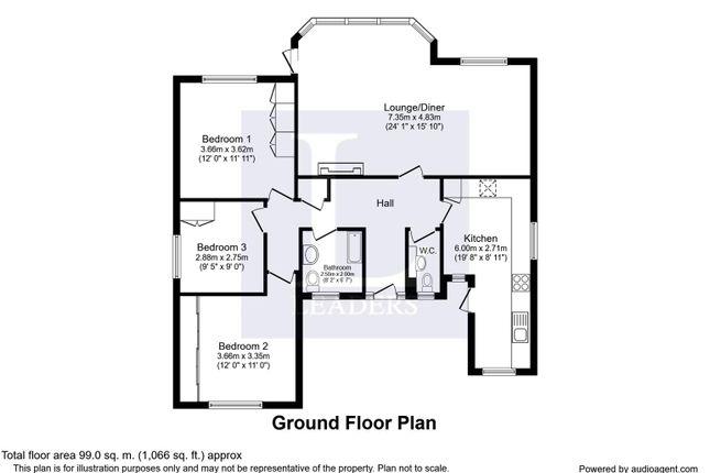 Floorplan of Warblington Avenue, Havant PO9
