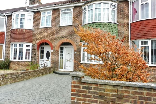Thumbnail Terraced house to rent in Vale Grove, Gosport