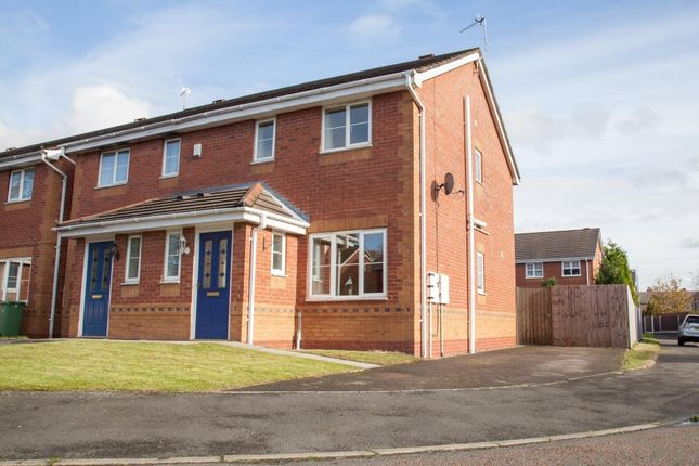 Thumbnail Semi-detached house to rent in The Hedgerows, Haydock, Haydock, St. Helens