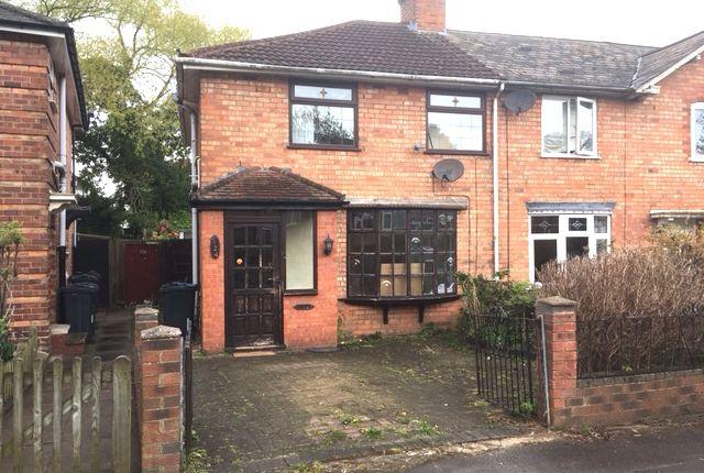 Thumbnail Semi-detached house to rent in Hazelville Road, Birmingham