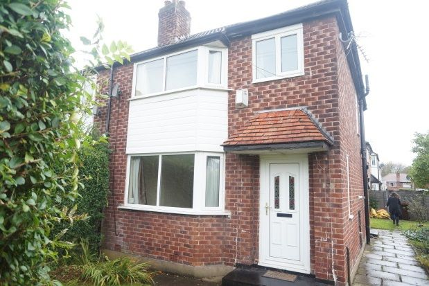 Thumbnail Property to rent in Riverton Road, Didsbury