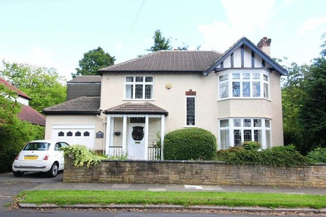 Thumbnail Detached house for sale in Menlove Gardens North, Calderstones, Liverpool