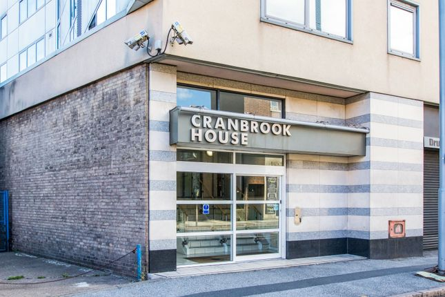 Front of Cranbrook Street, Nottingham NG1