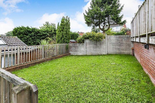 Rear Garden of Tintern Avenue, Chorley, Lancashire PR7
