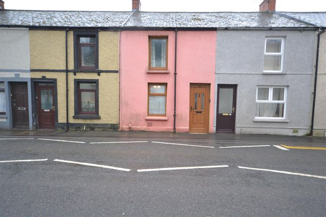 Front of Priory Street, Carmarthen SA31