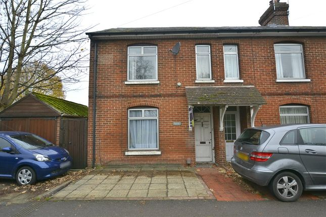 Thumbnail End terrace house for sale in Bar End Road, Winchester, Hampshire