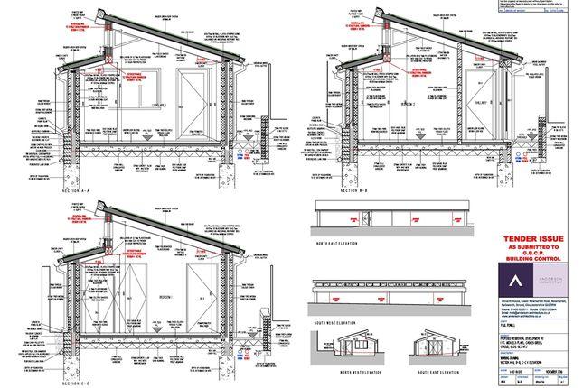 Thumbnail Detached bungalow for sale in Building Plot, St Michaels Place, Stroud, Gloucestershire