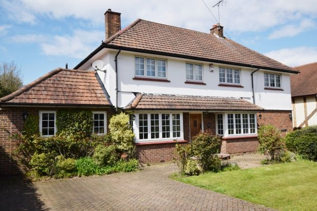 Thumbnail Detached house for sale in Homestead Road, Chelsfield, Orpington