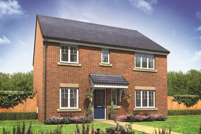 "Thumbnail Detached house for sale in ""The Marlborough"" at Burwell Road, Exning, Newmarket"