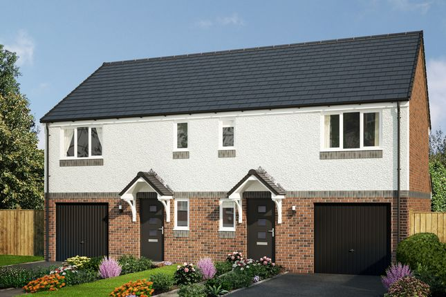 """Thumbnail Semi-detached house for sale in """"The Newton"""" at Rosslyn Street, Kirkcaldy"""