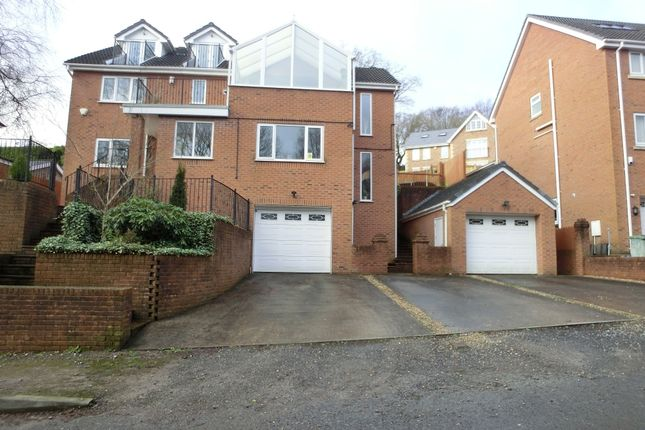 Thumbnail Detached house for sale in Woodlands Avenue, Clydach, Swansea.