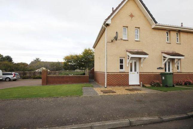 Thumbnail Semi-detached house to rent in Longstone Avenue, East Linton