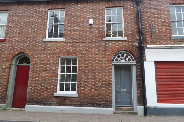 Thumbnail Terraced house to rent in Chapel Street, Carlisle