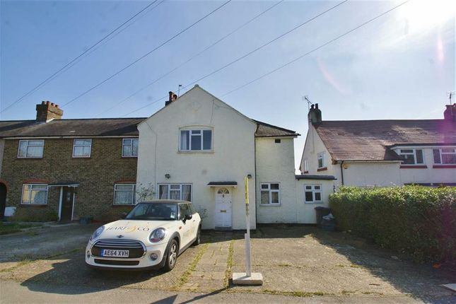 Thumbnail End terrace house for sale in Hoylake Road, Acton, Acton