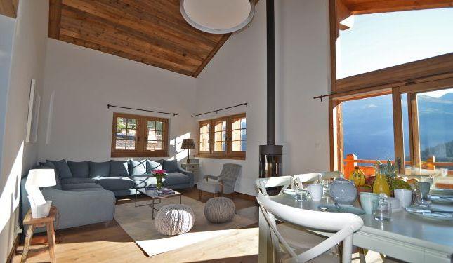 Thumbnail Apartment for sale in Route Des Rahas Grimentz, Valais, Switzerland