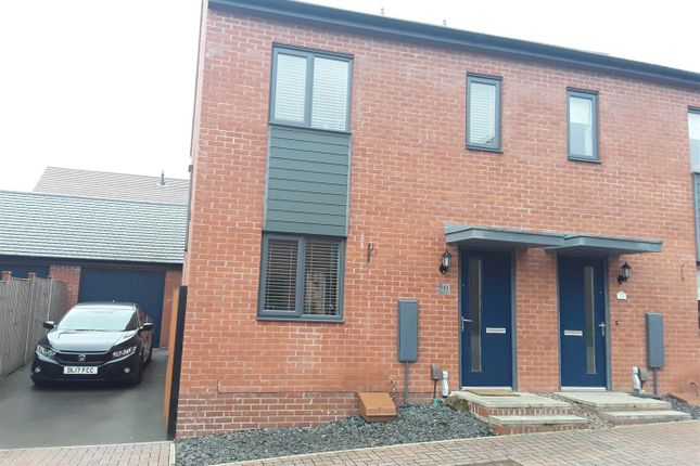 Thumbnail Semi-detached house for sale in Newdale Halt, Telford