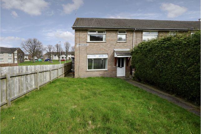 Thumbnail End terrace house for sale in Beaufort Walk, Newtownards