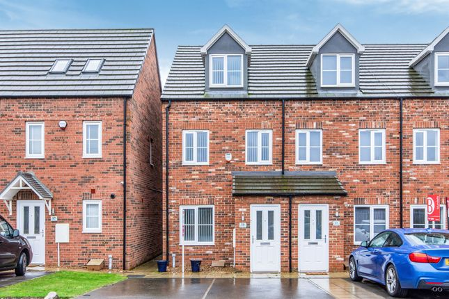 Thumbnail End terrace house for sale in Cammidge Way, Bessacarr, Doncaster