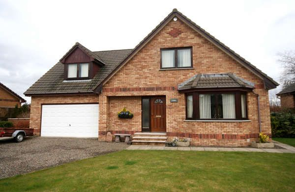 Thumbnail Detached house for sale in 33 School Road, Symington, Biggar