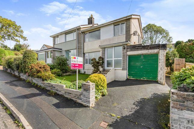 Thumbnail Semi-detached house for sale in Churchtown Vale, Saltash