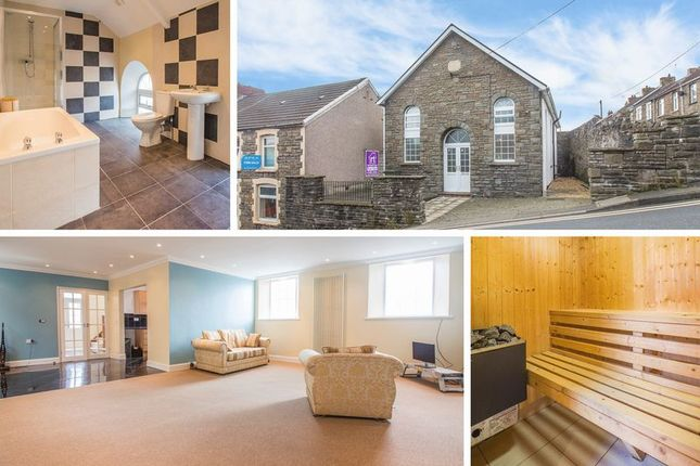 Thumbnail Detached house for sale in Heolddu Road, Bargoed