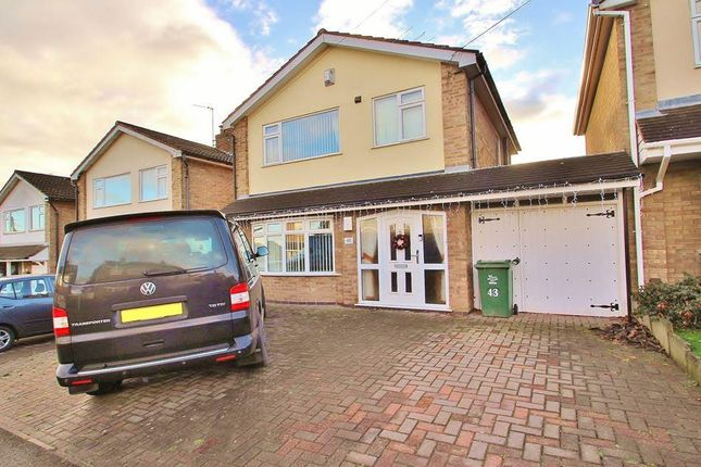 Thumbnail Detached house for sale in Falcon Road, Anstey, Leicestershire