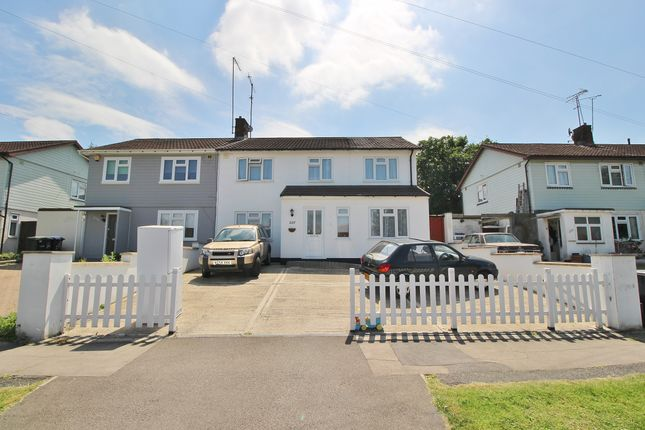 Thumbnail Semi-detached house for sale in Lonsdale Drive, Enfield
