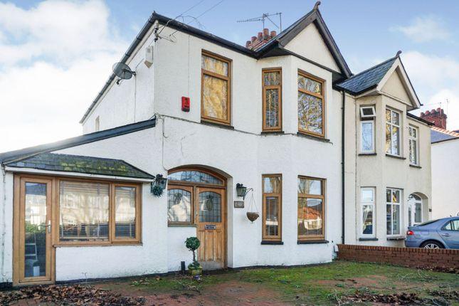 Thumbnail Semi-detached house for sale in Heathwood Road, Heath