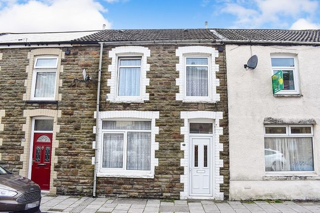 Thumbnail Terraced house for sale in High Street, Pontycymer, Bridgend.