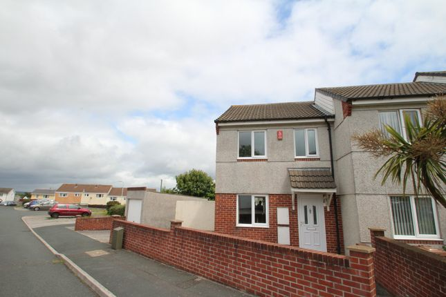 Thumbnail End terrace house to rent in Cayley Way, Plymouth