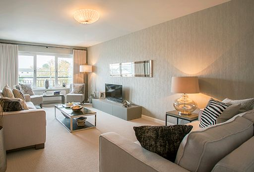 """Thumbnail Flat for sale in """"The Dewar"""" at Highfields, Dunblane"""
