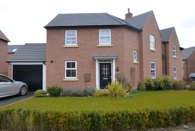 Thumbnail Detached house to rent in Slatewalk Way, Glenfield, Leicester.