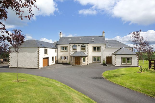 Thumbnail Detached house for sale in Barlogan House, Lauder, Berwickshire