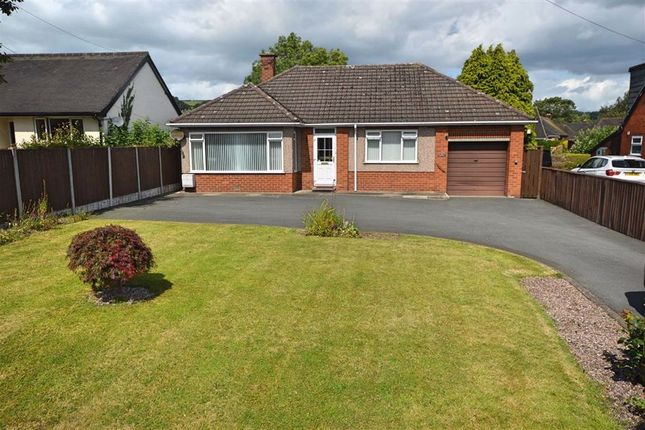 Thumbnail Bungalow for sale in Fairview, Llanidloes Road, Llanidloes Road, Newtown, Powys
