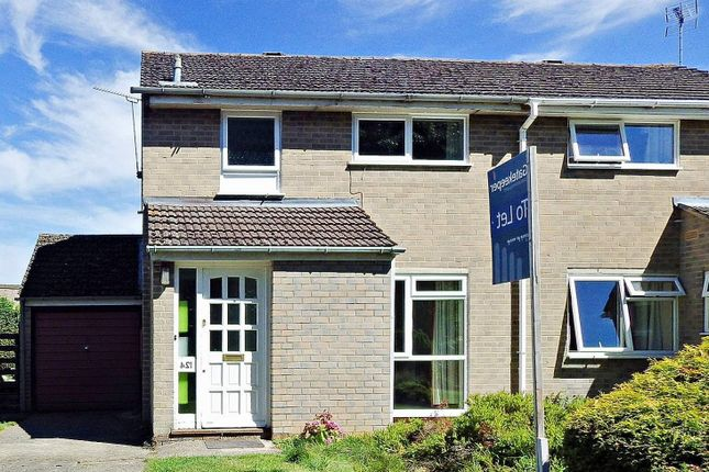 Thumbnail Semi-detached house to rent in Spareacre Lane, Witney, Oxfordshire
