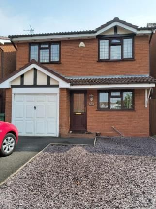 Thumbnail Detached house for sale in Mayflower Close, Stourport-On-Severn