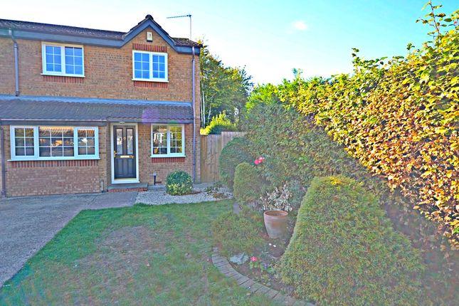 Thumbnail End terrace house to rent in Lowestoft Drive, Burnham, Slough
