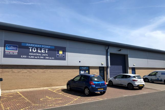 Thumbnail Industrial to let in Parkway Point, Glasgow Business Park, Springhill Parkway, Glasgow