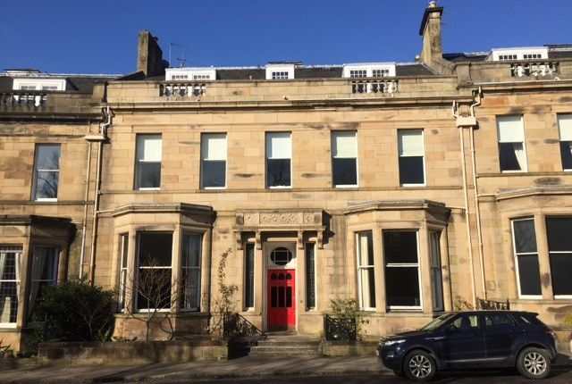 Thumbnail Flat to rent in Lancaster Crescent, Hyndland, Glasgow