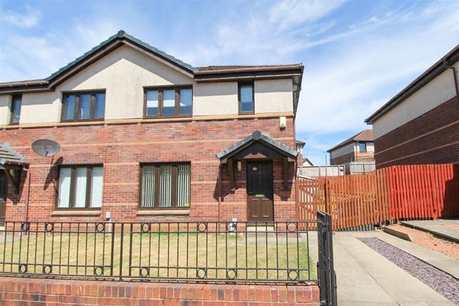 Thumbnail Semi-detached house to rent in Waulkmill Avenue, Barrhead