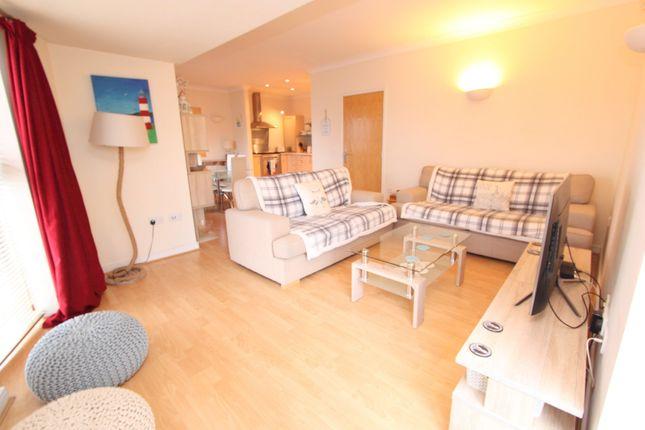 Lounge of Century Quay, Vauxhall Street, Sutton Harbour, Plumouth, Devon PL4