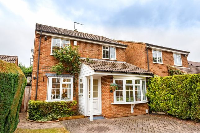 Thumbnail Detached house for sale in Larksfield, Englefield Green, Egham