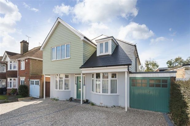 Thumbnail Detached house for sale in Queens Road, Tankerton, Whitstable