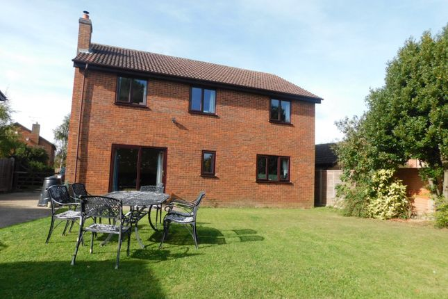 Thumbnail Detached house for sale in The Meadows, Station Road, Cotton, Stowmarket