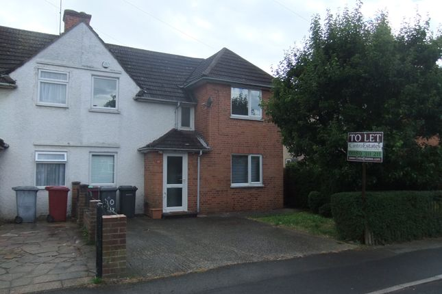 Thumbnail Semi-detached house to rent in Hazel Crescent, Reading