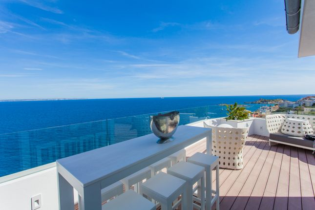 Terrace of Illetas, Illetes, Majorca, Balearic Islands, Spain