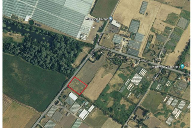Thumbnail Land for sale in Cootes Lane, Fen Drayton, Cambridge