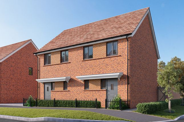 "Thumbnail Semi-detached house for sale in ""The Elder"" at Wycke Hill, Maldon"